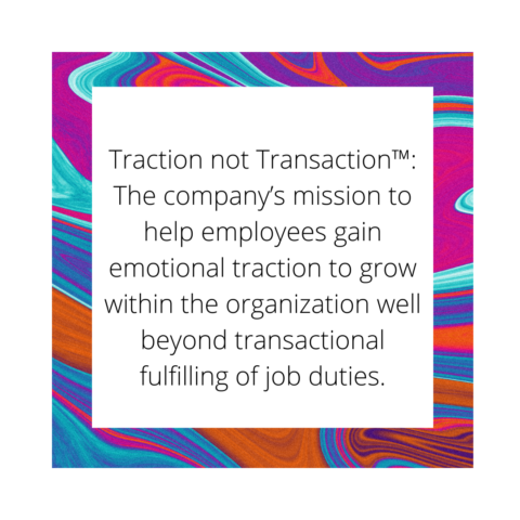 The meaning of Traction not Transaction